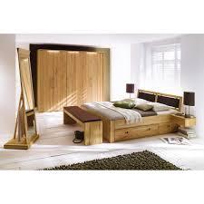 Schlafzimmer Komplett Led Massivholz Schlafzimmer Komplett 6 Teilig Palermo Kernbuche Geölt
