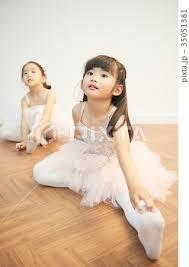 バレエ少女|