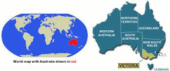 location of australia on world map map of location maps travel accommodation