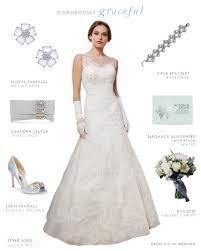 elegant wedding dress from lillian west