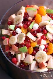 Cranberry For Thanksgiving Apple Cranberry Fruit Salad Tastes Better From Scratch