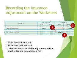 planning adjusting entries on a worksheet ppt video online download