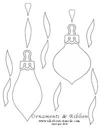 free printable christmas ornaments stencils christmas stencils and many fun stenciling ideas