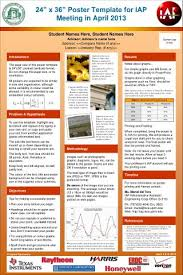 ppt iwa poster template powerpoint presentation id 200313