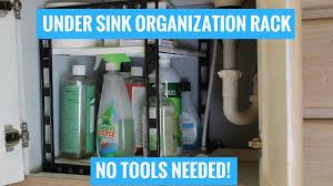 under the sink cabinet organization kitchen bathroom u0026 linen