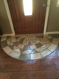 Strip Laminate Flooring Tile Doorway Entry Protecting The Laminate From Tracking The