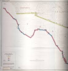 Us Mexico Border Map by