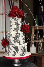 black and white wedding ideas black and white wedding cake with flowers wedding ideas for you