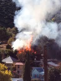 blaze destroys bisbee home on thanksgiving