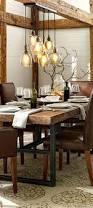 Dining Room Lighting Ideas Dining Table Rustic Dining Rooms Room Design Table Lighting