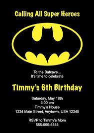 batman birthday party invitations stephenanuno com