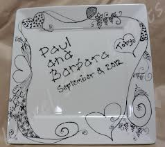 wedding platter painted pottery from laurel arts page 12