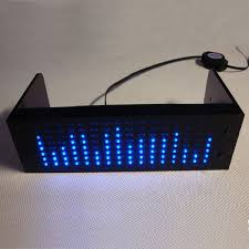how to build led light bar diy as1608 music spectrum audio spectrum display led flashing light