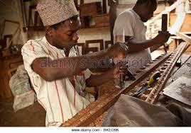 wood carvers swahili wood carving stock photos swahili wood carving stock