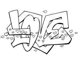graffiti color pages 105 best coloring pages images on pinterest drawings