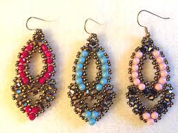video tutorial beaded earrings