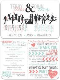 What To Put On Wedding Programs Best 25 Wedding Program Thank You Ideas On Pinterest