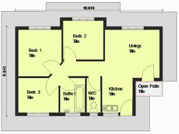 free house plans new three bedroom house plans free house plan
