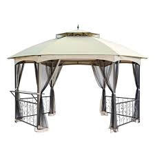 12x12 Patio Gazebo by Outdoor Affordable Way To Upgrade Your Gazebo With Fantastic
