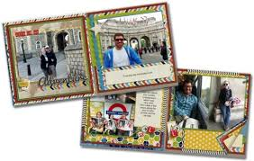 travel photo albums scrapbook layouts and templates smilebox