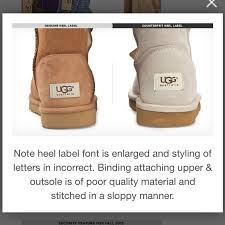 ugg sale legit ugg read how to authenticate uggs from brinne s