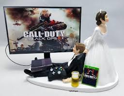 xbox cake topper cod blk ops iii wedding cake topper gamer xbox one ps4 pc 2560184