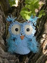 free crochet patterns owl ornaments dancox for