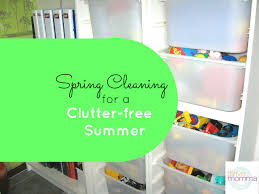 spring cleaning for a clutter free summer thrivemomma with