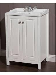 White Vanity Unit And Basin Traditional 60 Chalk White Vanity Unit U0026 Vitaria Basin