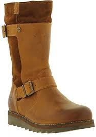 boots uk wide fit oak hyde womens leather wide fit calf boots amazon co uk shoes
