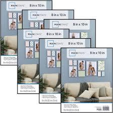 Home Decor Photo Frames Mainstays 8x10 Format Picture Frame Set Of 6 Walmart Com