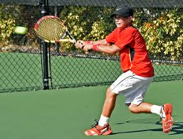 Phillip Thomas by Young Tennis Players Feel Pressure Of International Competition In