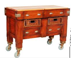 Small Butcher Block Kitchen Island Small Portable Butcher Block Kitchen Island Furniture Decor