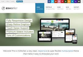 drupal themes latest coworker responsive multipurpose drupal theme themeforest free demo