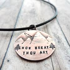 great necklace how great thou mountain range necklace a twist of whimsy
