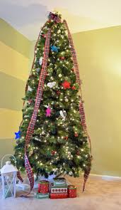 homespun plaid christmas tree