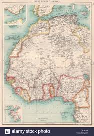 Benin Africa Map by North U0026 West Africa Gold Coast Ghana Slave Coast Tribal Names
