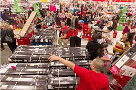 target black friday lines hey shoppers black friday savings are a hoax bloomberg