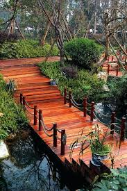 small garden bridge small creek in backyard best small bridge ideas on small garden