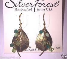 silver forest earrings silver forest fashion earrings ebay