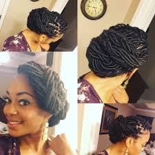 beautiful loc updo goddess loc style hair pinterest updo