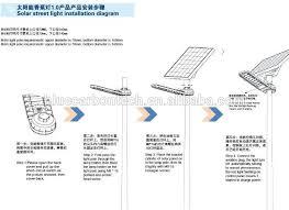 Solar Street Light Circuit Diagram by Bct Sale Solar Outdoor Lamp 25w Led Solar Street Light With
