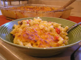 37 cooks spicy tasso mac n cheese with roasted red peppers