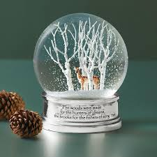 Sundance Home Decor Woods In Winter Snow Globe Decor Home Furnishings Robert