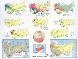 Latitude Map Of The World by Large Scale Summary Map Of The Ussr 1968 U S S R Europe