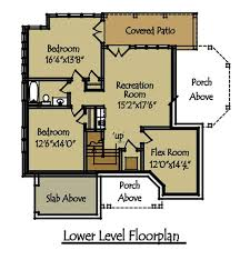 house floor plans with basement 2 5 bedroom rustic lake cottage house plan