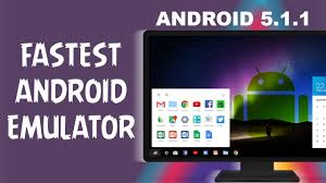windows android emulator android 5 1 1 lollipop emulator for windows pc fastest emulator