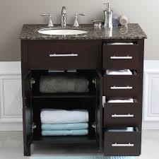 36 Inch Bathroom Sink Top 36 Inch Single Sink Bathroom Vanity Set Contemporary Vanities Best