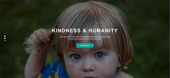 kindness nonprofit crowdfunding u0026 charity html5 template by