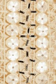 Tory Burch Wallpaper by Tory Burch Alicia Embellished Lace And Organza Dress In Natural Lyst